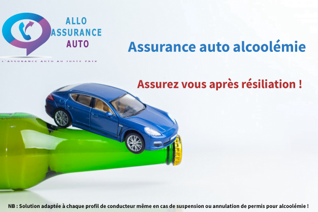 assurance auto après résiliation pour alcoolémie