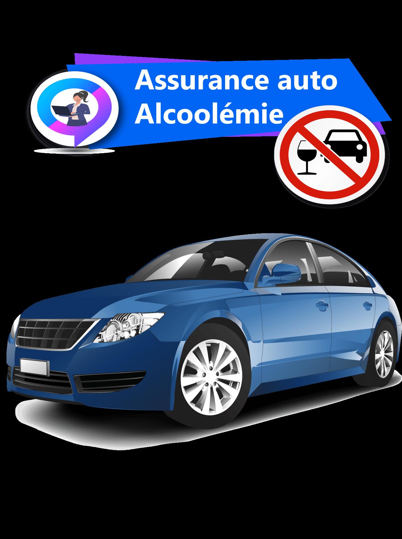 Assurance auto résilié alcoolémie