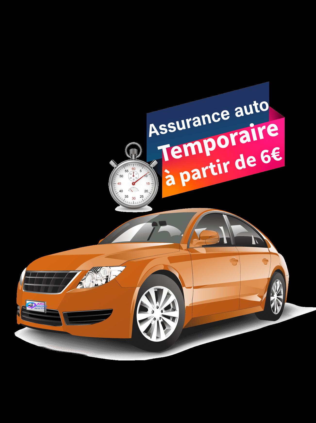 Assurance auto temporaire en ligne