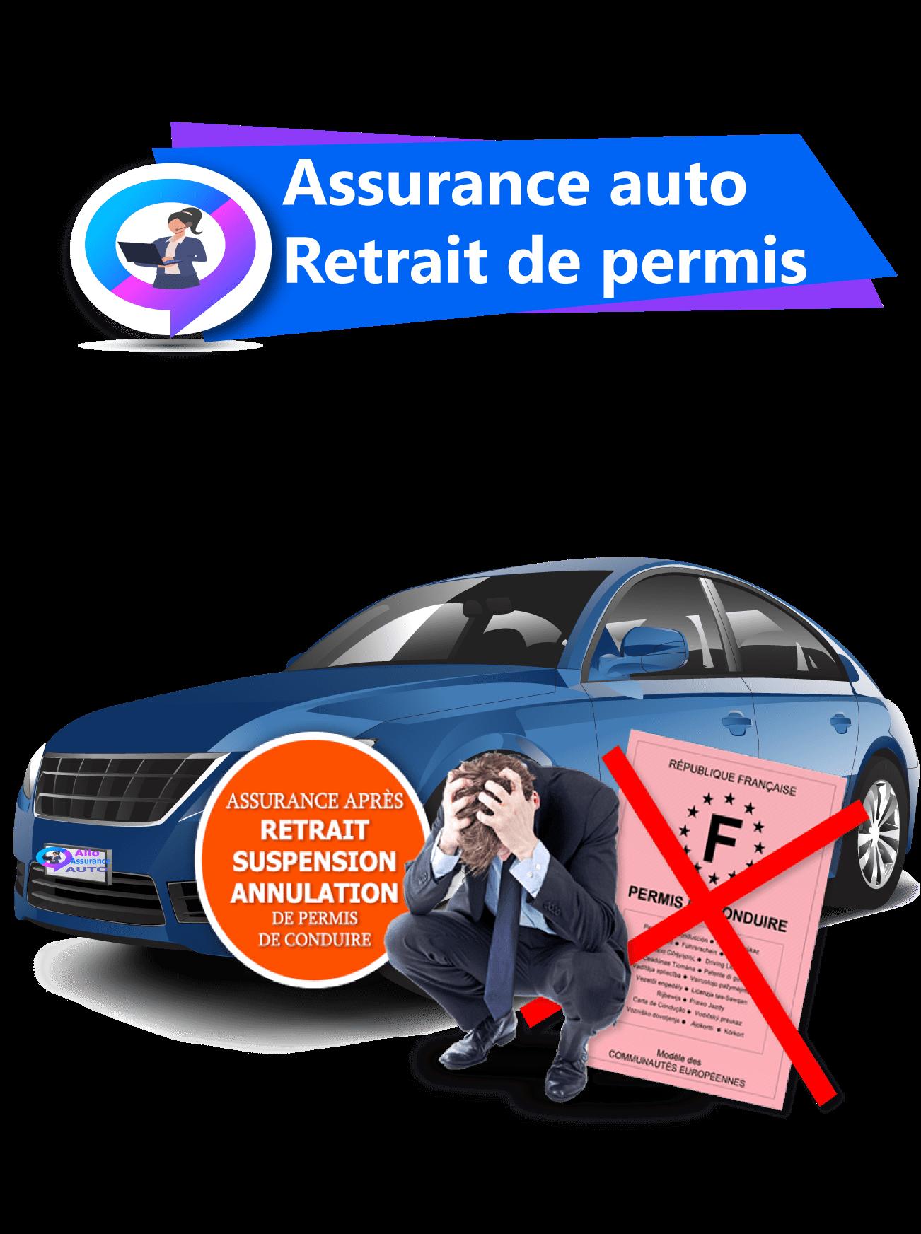 Assurance auto retrait permis
