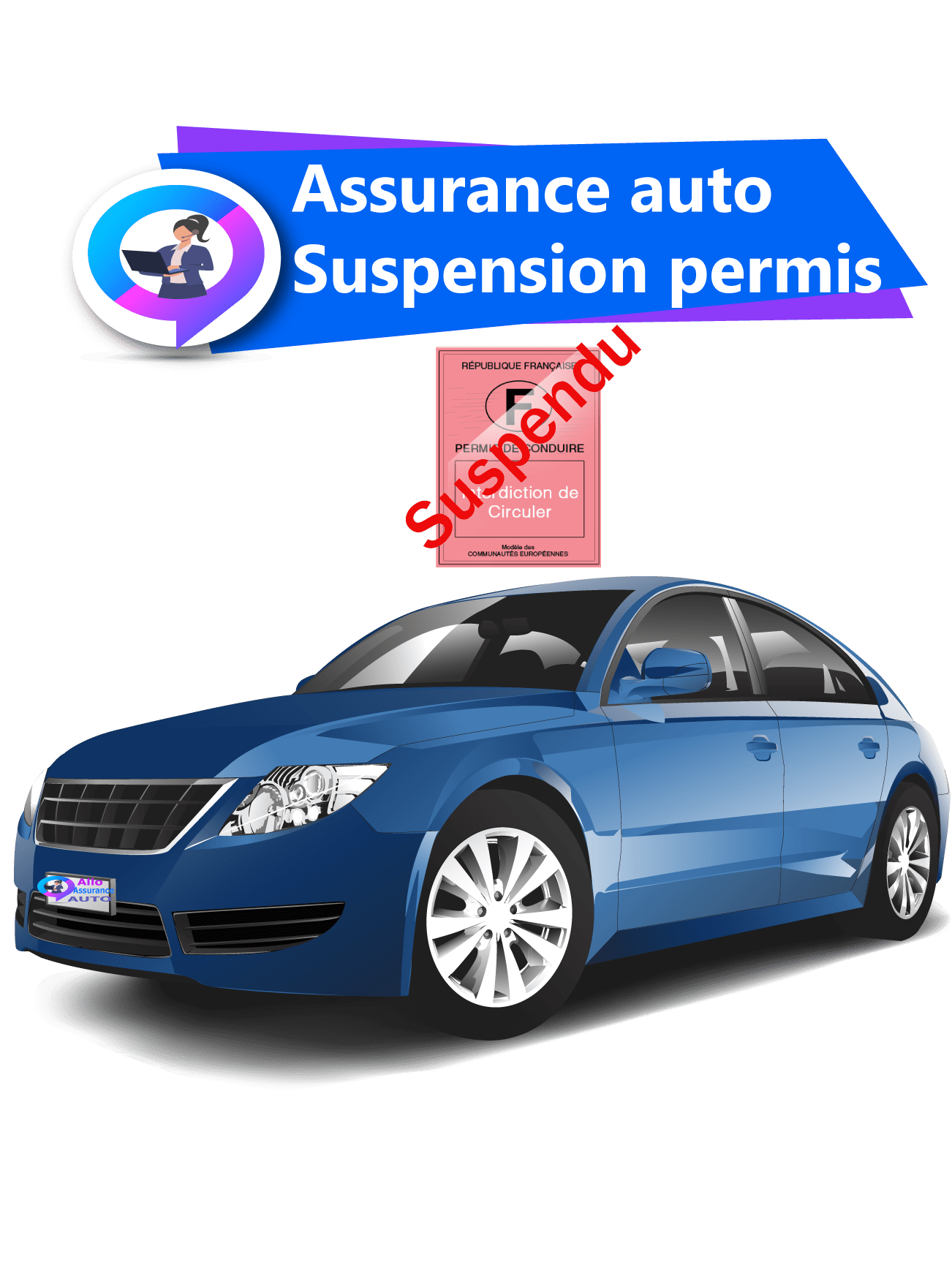 Assurance auto suspension permis