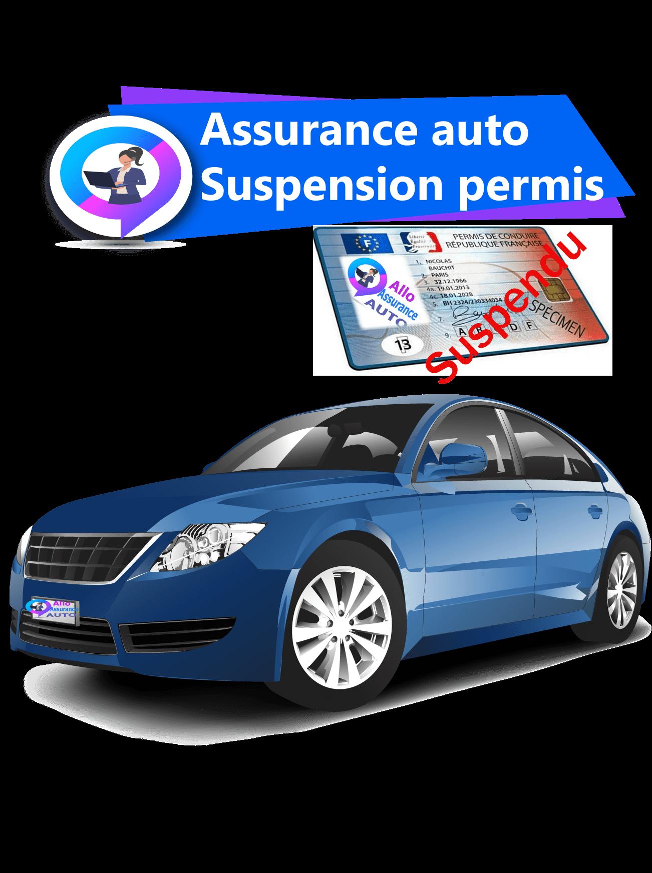 Assurance auto suspension permis